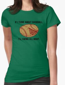 Swing All Night Womens Fitted T-Shirt