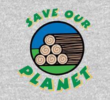 Save the planet Mens V-Neck T-Shirt