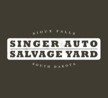 Singer Auto Salvage Yard by Lee Jones