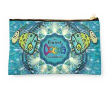 The Planet Dooda Foundation Logo with Love Birds Studio Pouch