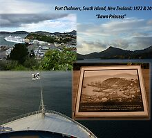 Port Chalmers Harbour 1873-2010 South Island, New Zealand by Keith Richardson