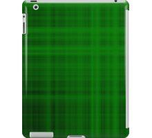 Green Plaid iPad Case/Skin