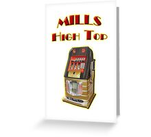 Mills High Top Greeting Card