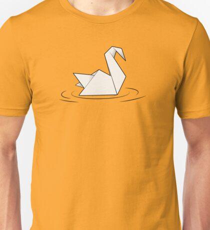 Paper Swan  Unisex T-Shirt