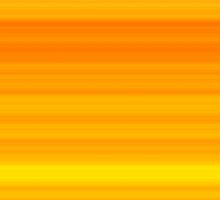 Summer Orange-Yellow Stripes by FireFairy