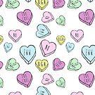 Soft Grunge Hearts by Margybear