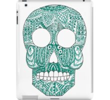Green skull iPad Case/Skin