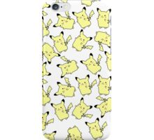 Lots and Lots of Pikachu iPhone Case/Skin