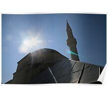 Bosnian Mosque Poster