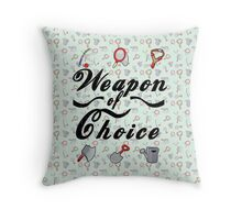 Animal Crossing- Weapon of Choice Throw Pillow