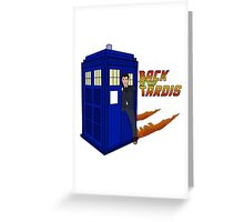 Back To The Tardis Greeting Card
