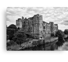 Newark Castle. Canvas Print