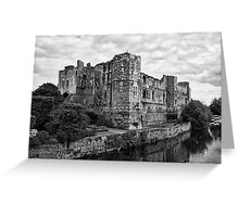 Newark Castle. Greeting Card