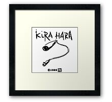 Kira Hara  Framed Print