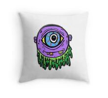 Sick Eye Throw Pillow