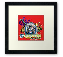 JW Gyrosphere w Jimmy  Framed Print