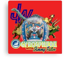 JW Gyrosphere w Jimmy  Canvas Print