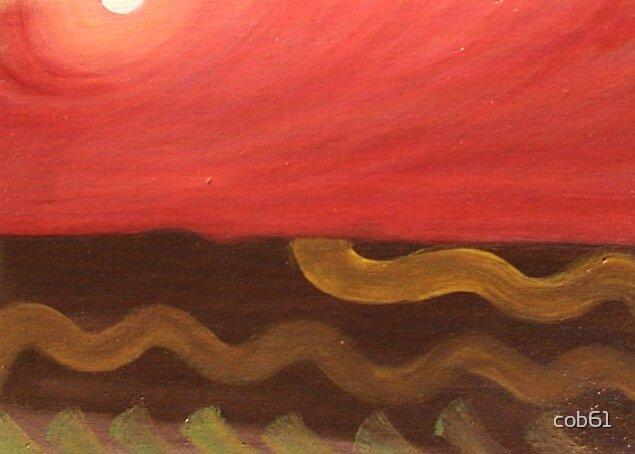Do earthworm's dream of orange skies? by cob61