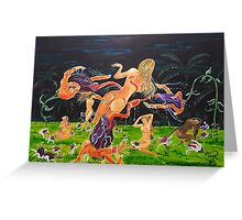 The Garden of Delights Greeting Card