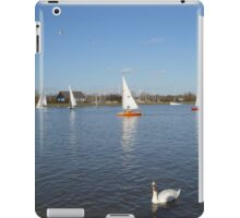 Beautiful Day by the River iPad Case/Skin