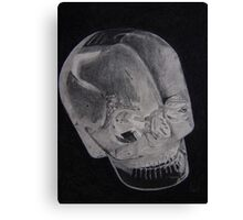 Alien Crystal Canvas Print