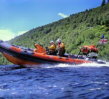 Man Over Board (MOB) Drill on Loch Ness by Loch Ness RNLI Crew