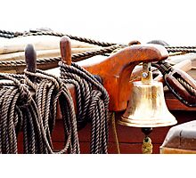 Ships Bell Photographic Print