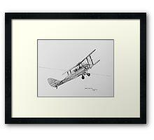 DH-82A Tiger  Moth G-ACDC Framed Print