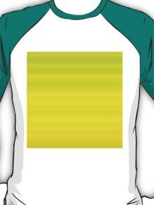 Green-Mustard Stripes T-Shirt
