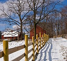 Winter Farm by Wild For Ever