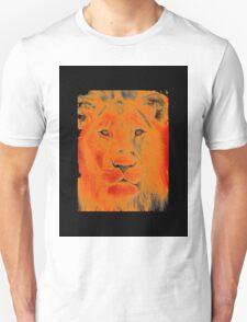 lion face Unisex T-Shirt
