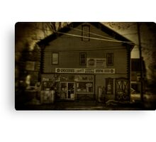 Cook's Variety Store Canvas Print