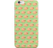 Pixel Pigs Pattern iPhone Case/Skin