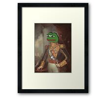 Royalty Face Swap - personalize with any picture of your choice! Framed Print