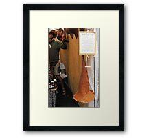 Seed Hat Framed Print
