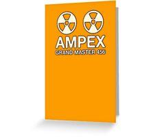 Ampex Grand Master Tape Greeting Card