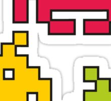 Space Invaders! Sticker