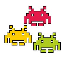 Space Invaders! by Smallbrainfield