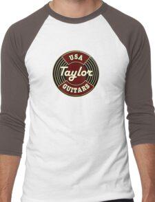 USA Taylor Guitars  Men's Baseball ¾ T-Shirt