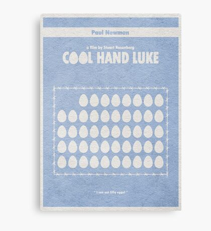 Cool Hand Luke Canvas Print