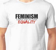 Feminism is Equality Unisex T-Shirt