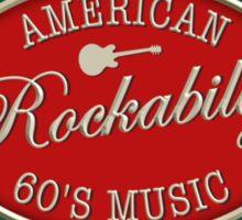 American Rockabilly  60's Music Sticker