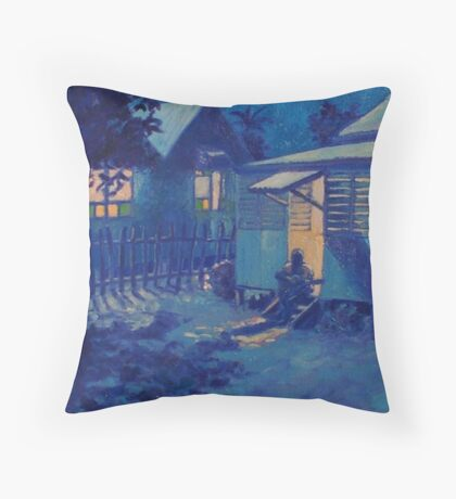 A Nightsong Throw Pillow