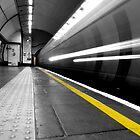 Behind the Line, Balham Station by Michael Hunter
