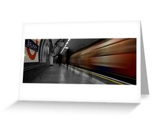 Balham station, London Underground Greeting Card