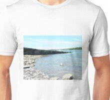 The Beach at Y Felinheli Unisex T-Shirt