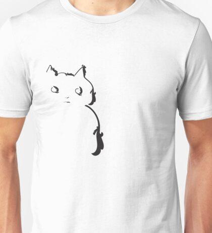 This cat doesn't trust anybody Unisex T-Shirt