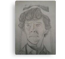 Sherlock Holmes the Beanie Detective Canvas Print
