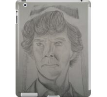 Sherlock Holmes the Beanie Detective iPad Case/Skin