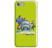 JW Gyrosphere w Jimmy + dilopho spit iPhone Case/Skin